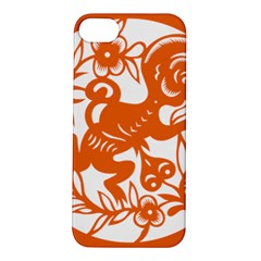 Chinese Zodiac Horoscope Monkey Star Orange Apple iPhone 5S/ SE Hardshell Case
