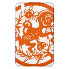 Chinese Zodiac Horoscope Monkey Star Orange Samsung Galaxy Tab Pro 8.4 Hardshell Case
