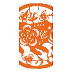 Chinese Zodiac Horoscope Pig Star Orange Samsung Galaxy Mega I9200 Hardshell Back Case