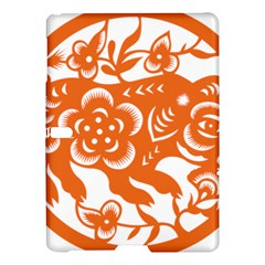 Chinese Zodiac Horoscope Pig Star Orange Samsung Galaxy Tab S (10.5 ) Hardshell Case