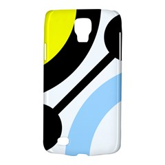 Circle Line Chevron Wave Black Blue Yellow Gray White Galaxy S4 Active