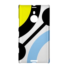 Circle Line Chevron Wave Black Blue Yellow Gray White Nokia Lumia 1520