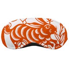 Chinese Zodiac Horoscope Rabbit Star Orange Sleeping Masks