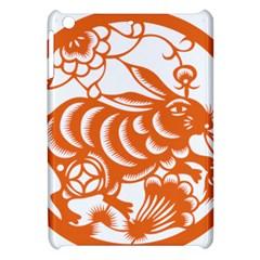 Chinese Zodiac Horoscope Rabbit Star Orange Apple iPad Mini Hardshell Case