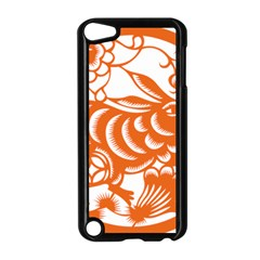 Chinese Zodiac Horoscope Rabbit Star Orange Apple iPod Touch 5 Case (Black)