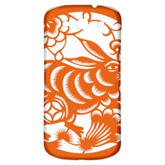 Chinese Zodiac Horoscope Rabbit Star Orange Samsung Galaxy S3 S III Classic Hardshell Back Case