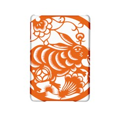 Chinese Zodiac Horoscope Rabbit Star Orange Ipad Mini 2 Hardshell Cases