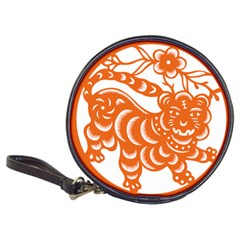 Chinese Zodiac Signs Tiger Star Orangehoroscope Classic 20-CD Wallets