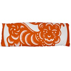 Chinese Zodiac Signs Tiger Star Orangehoroscope Body Pillow Case (Dakimakura)