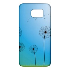 Flower Back Blue Green Sun Fly Galaxy S6