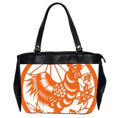 Chinese Zodiac Horoscope Zhen Icon Star Orangechicken Office Handbags (2 Sides)