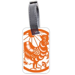Chinese Zodiac Horoscope Zhen Icon Star Orangechicken Luggage Tags (Two Sides)
