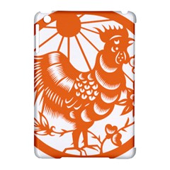 Chinese Zodiac Horoscope Zhen Icon Star Orangechicken Apple iPad Mini Hardshell Case (Compatible with Smart Cover)