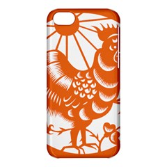 Chinese Zodiac Horoscope Zhen Icon Star Orangechicken Apple iPhone 5C Hardshell Case