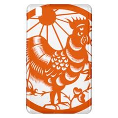 Chinese Zodiac Horoscope Zhen Icon Star Orangechicken Samsung Galaxy Tab Pro 8.4 Hardshell Case