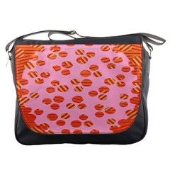 Distance Absence Sea Holes Polka Dot Line Circle Orange Chevron Wave Messenger Bags