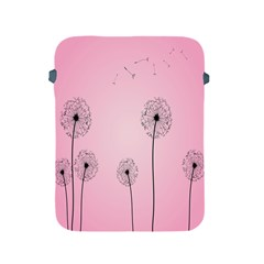 Flower Back Pink Sun Fly Apple iPad 2/3/4 Protective Soft Cases