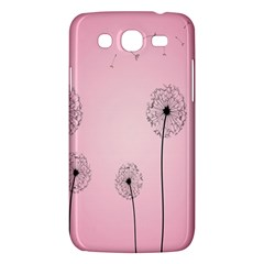 Flower Back Pink Sun Fly Samsung Galaxy Mega 5.8 I9152 Hardshell Case