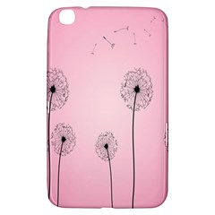 Flower Back Pink Sun Fly Samsung Galaxy Tab 3 (8 ) T3100 Hardshell Case