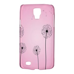 Flower Back Pink Sun Fly Galaxy S4 Active