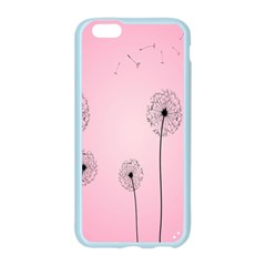 Flower Back Pink Sun Fly Apple Seamless iPhone 6/6S Case (Color)
