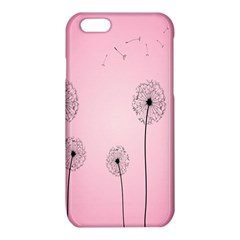 Flower Back Pink Sun Fly iPhone 6/6S TPU Case