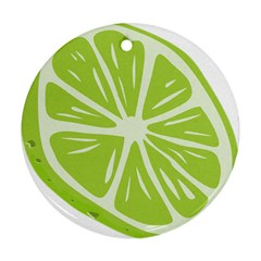 Gerald Lime Green Ornament (Round)