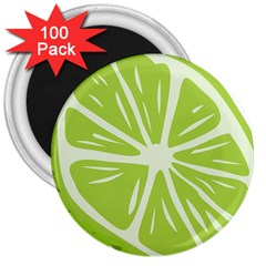 Gerald Lime Green 3  Magnets (100 pack)