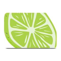 Gerald Lime Green Plate Mats