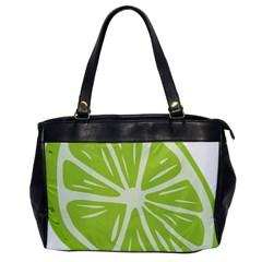 Gerald Lime Green Office Handbags