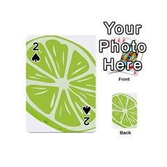 Gerald Lime Green Playing Cards 54 (Mini)