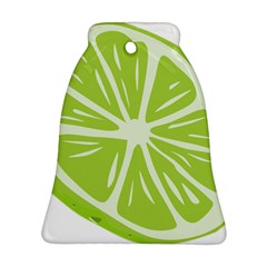 Gerald Lime Green Bell Ornament (Two Sides)