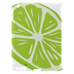 Gerald Lime Green Apple iPad 3/4 Hardshell Case (Compatible with Smart Cover)