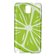 Gerald Lime Green Samsung Galaxy Note 3 N9005 Hardshell Case