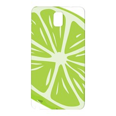 Gerald Lime Green Samsung Galaxy Note 3 N9005 Hardshell Back Case