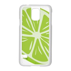 Gerald Lime Green Samsung Galaxy S5 Case (White)