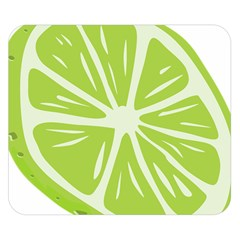 Gerald Lime Green Double Sided Flano Blanket (Small)