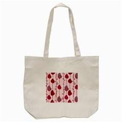 Flower Floral Mpink Frame Tote Bag (Cream)