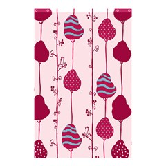 Flower Floral Mpink Frame Shower Curtain 48  x 72  (Small)