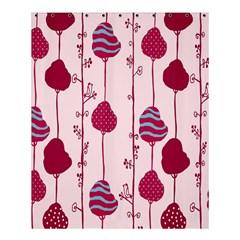 Flower Floral Mpink Frame Shower Curtain 60  x 72  (Medium)