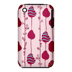 Flower Floral Mpink Frame iPhone 3S/3GS