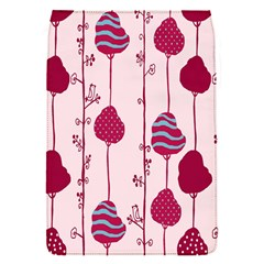 Flower Floral Mpink Frame Flap Covers (S)
