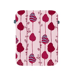 Flower Floral Mpink Frame Apple iPad 2/3/4 Protective Soft Cases
