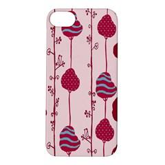 Flower Floral Mpink Frame Apple iPhone 5S/ SE Hardshell Case
