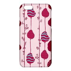 Flower Floral Mpink Frame iPhone 6/6S TPU Case