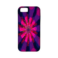 Flower Red Pink Purple Star Sunflower Apple iPhone 5 Classic Hardshell Case (PC+Silicone)