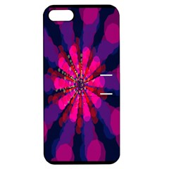 Flower Red Pink Purple Star Sunflower Apple iPhone 5 Hardshell Case with Stand