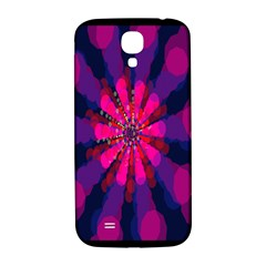 Flower Red Pink Purple Star Sunflower Samsung Galaxy S4 I9500/I9505  Hardshell Back Case