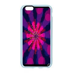 Flower Red Pink Purple Star Sunflower Apple Seamless iPhone 6/6S Case (Color)