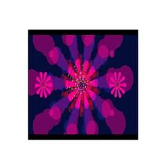 Flower Red Pink Purple Star Sunflower Satin Bandana Scarf